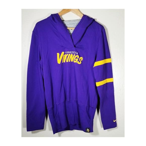 promo code 2e963 2bcdf Nike || Minnesota Vikings Hoodie